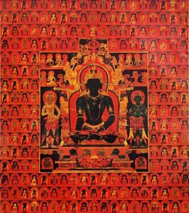 The_Dhyani_Buddha_Akshobhya',_Tibetan_thangka,_late_13th_century,_Honolulu_Academy_of_Arts wikipedia.org
